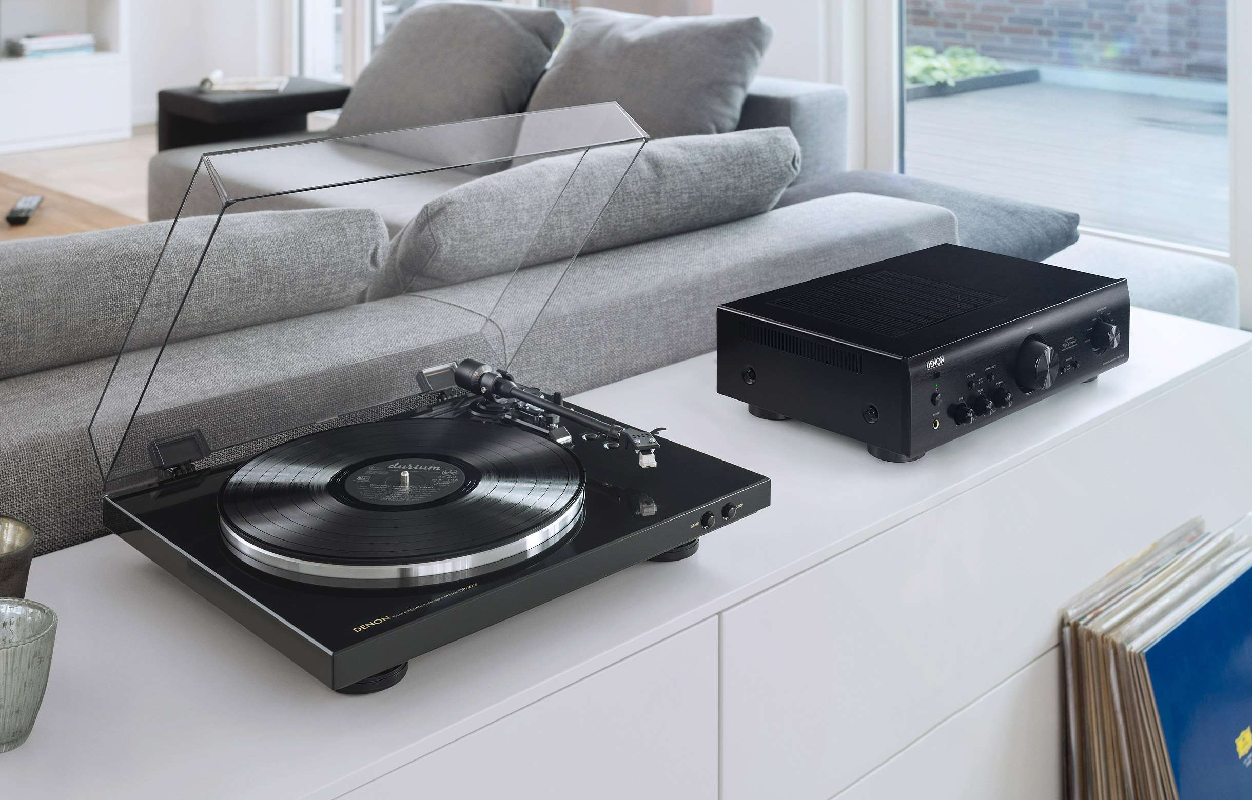 Dp 300f Fully Automatic Analog Turntable Vinyl Will Ship Separately Turntables Denon