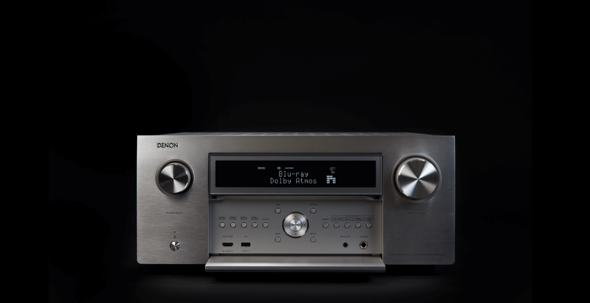 A New Denon Legacy: AVR-X8500H is the World's First 13.2 Channel AV Receiver